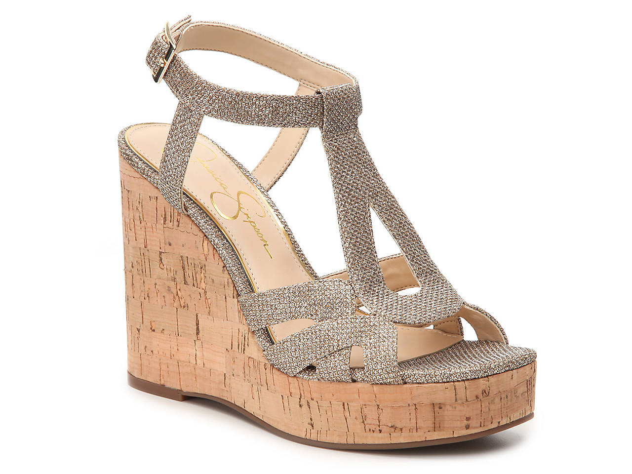 e8feab00013 Jessica Simpson Shayla Wedge Sandal Women s Shoes