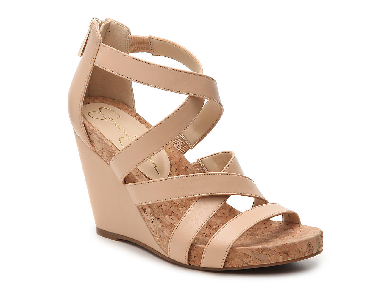 Jessica Simpson Bassena Wedge Sandal Womens Shoes Dsw
