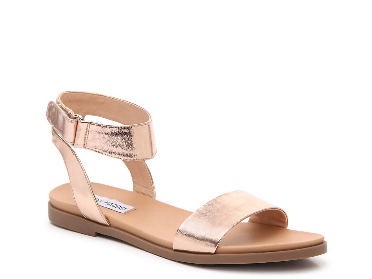 833f6f03a23 Steve Madden Meghan Flat Sandal Women s Shoes