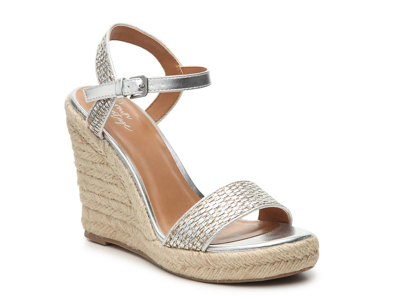83f2b9e403a Crown Vintage Vediccity Wedge Sandal Women s Shoes