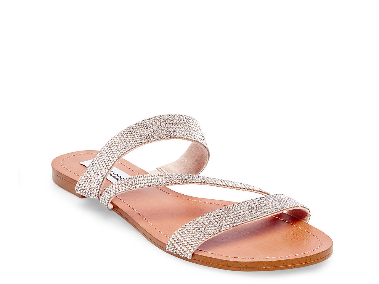 dbddc24683c Steve Madden Lorie Flat Sandal Women s Shoes