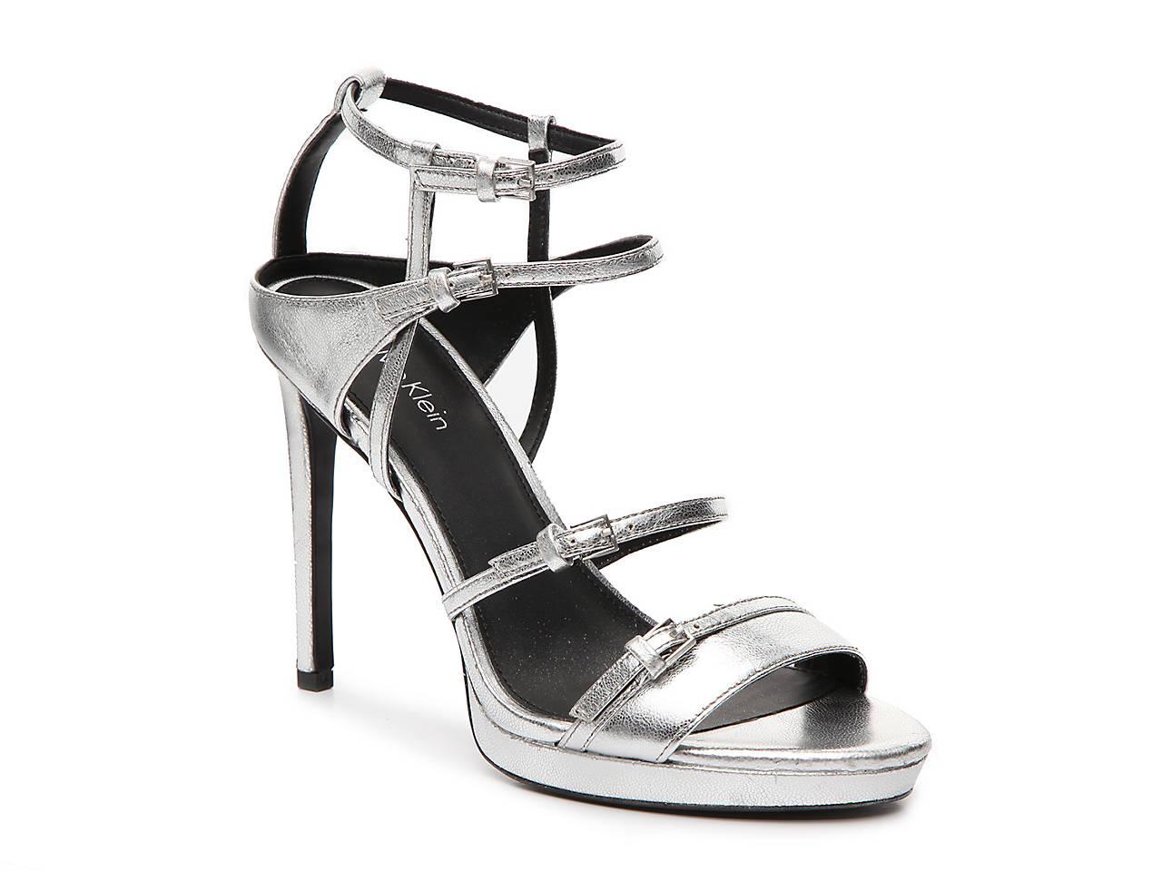 9c8f43f1c6a Calvin Klein Shantell Platform Sandal Women s Shoes