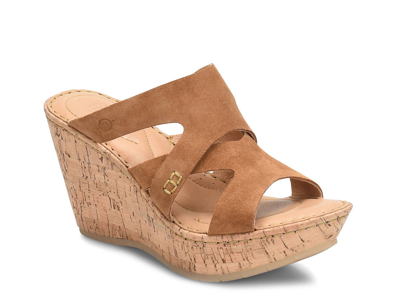 cd2c47b5525f17 Born Andreas Wedge Sandal Women s Shoes