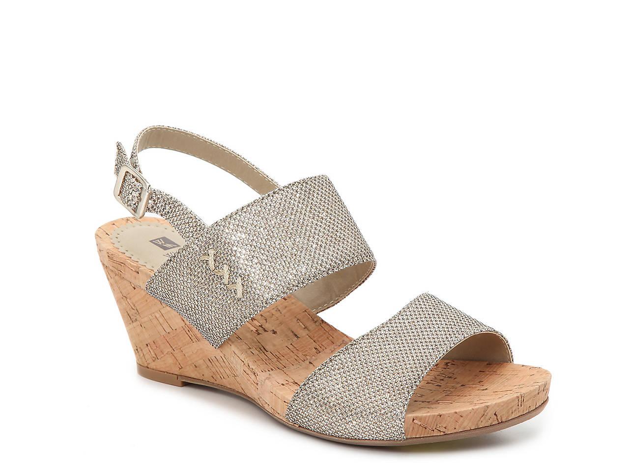 cf2cc7695d10 White Mountain Alexus Wedge Sandal Women s Shoes