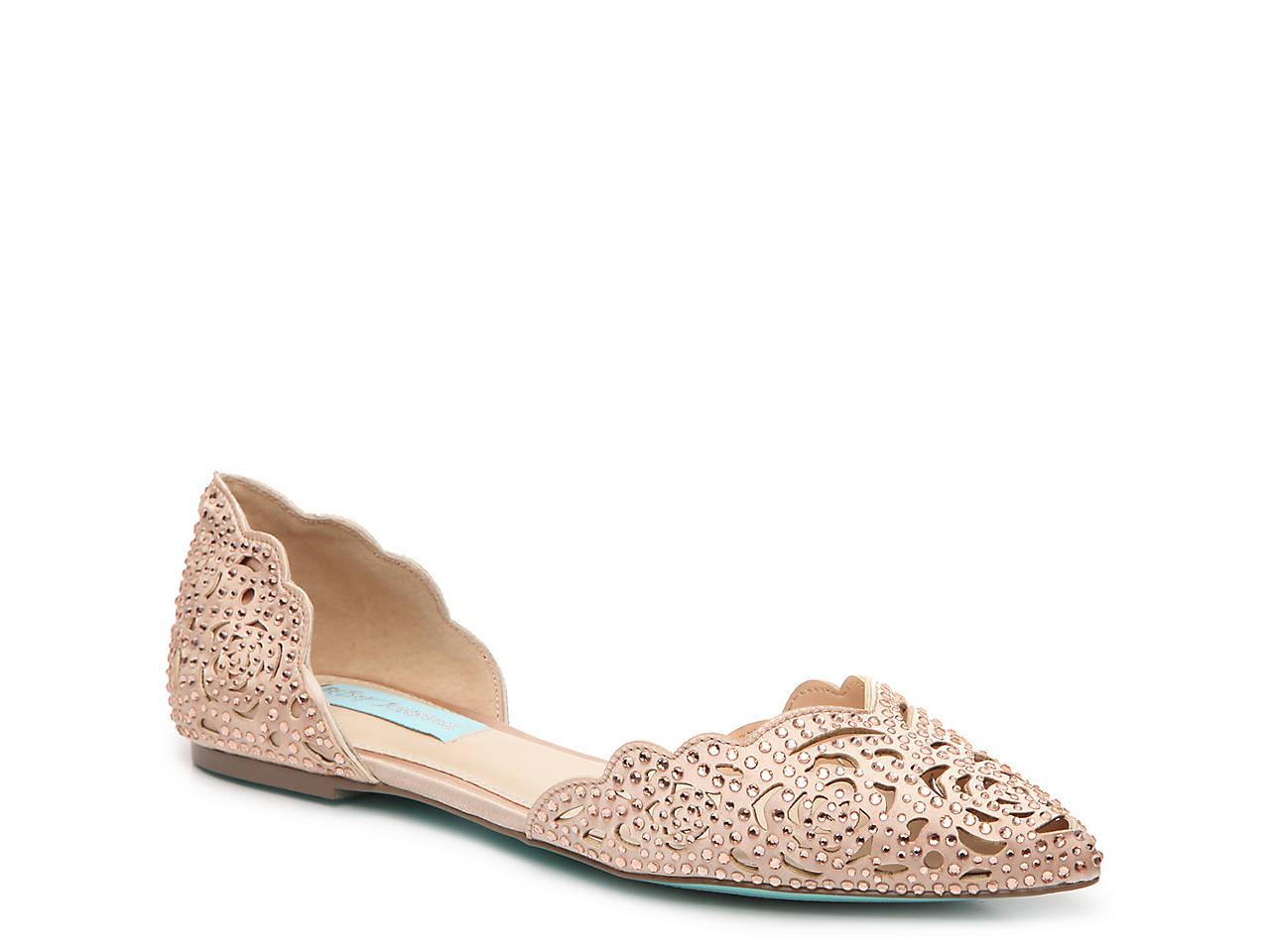 859b6d3cb20 Betsey Johnson Miley Flat Women s Shoes