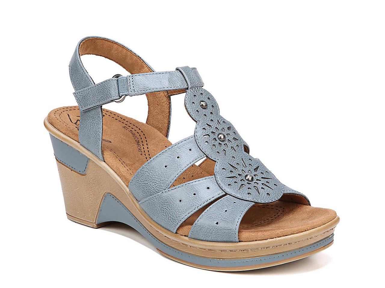 f08225539e0a Natural Soul Rynda Wedge Sandal Women s Shoes