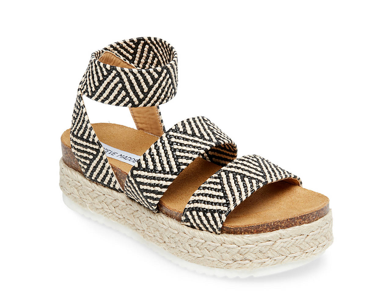 305b8055f61a Steve Madden Kimmie Espadrille Wedge Sandal Women s Shoes