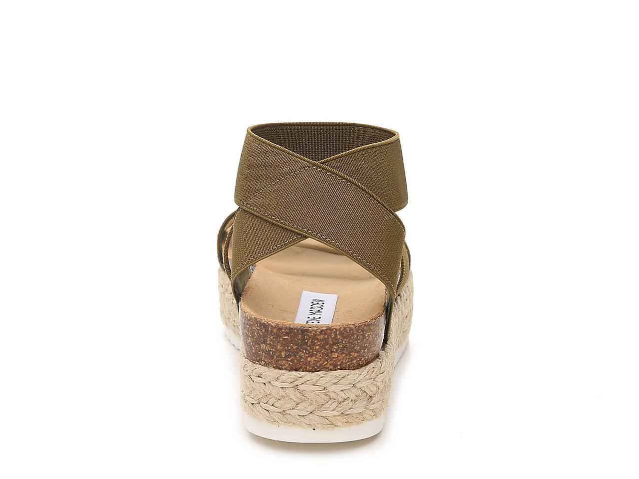 b9f6e95faa1 Steve Madden Kimmie Espadrille Wedge Sandal Women s Shoes