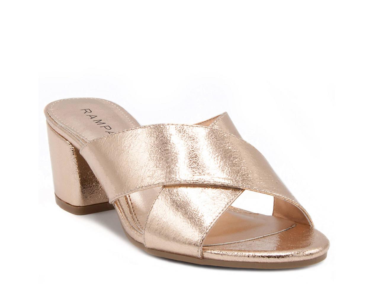 Rampage Hannie Block Heel Sandal T49EP
