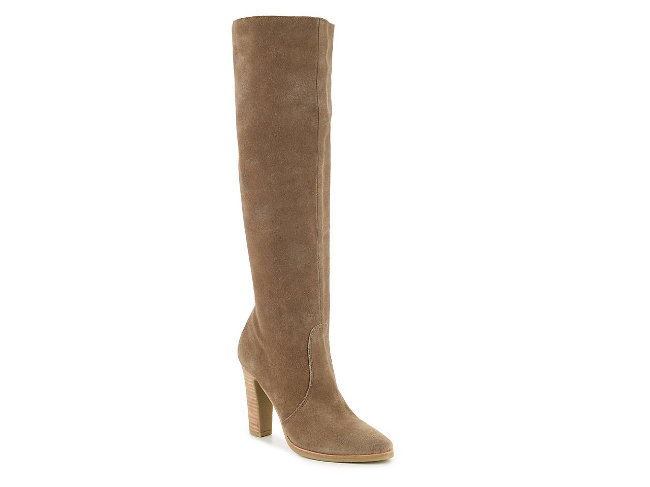Céline Suede Knee-High Boots