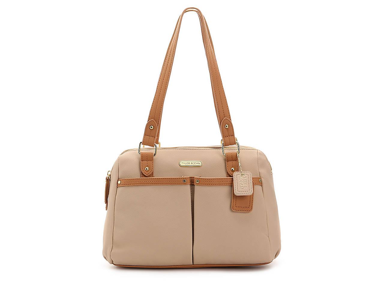 Tyler Rodan Rumi Double Zip Shoulder Bag Womens Handbags
