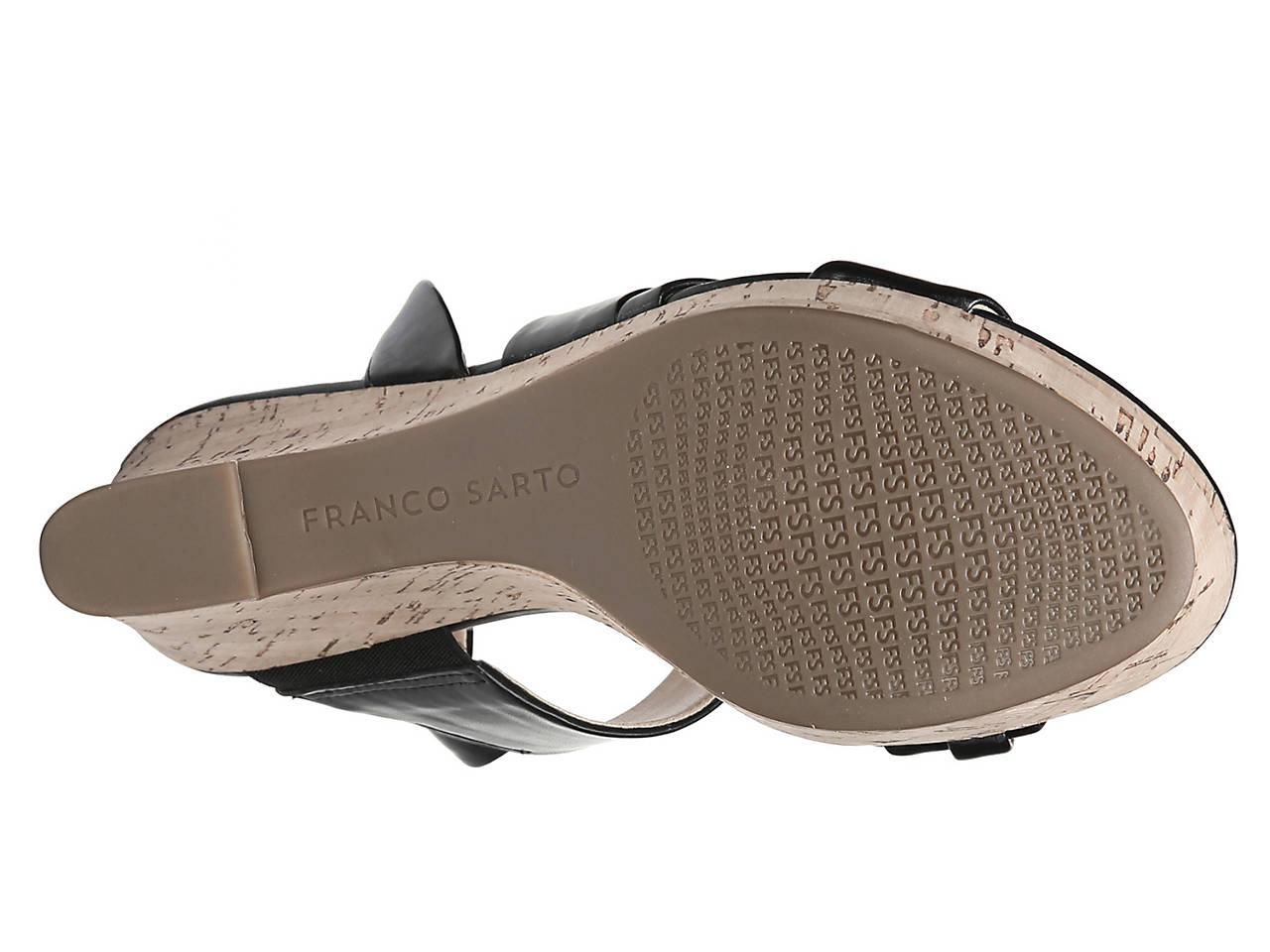 19470f0a947c Franco Sarto Seneca Wedge Sandal Women s Shoes