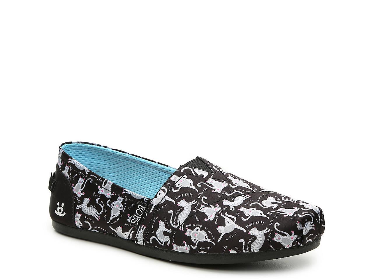 Skechers Bobs Plush Zen Kitty Slip On Women S Shoes Dsw