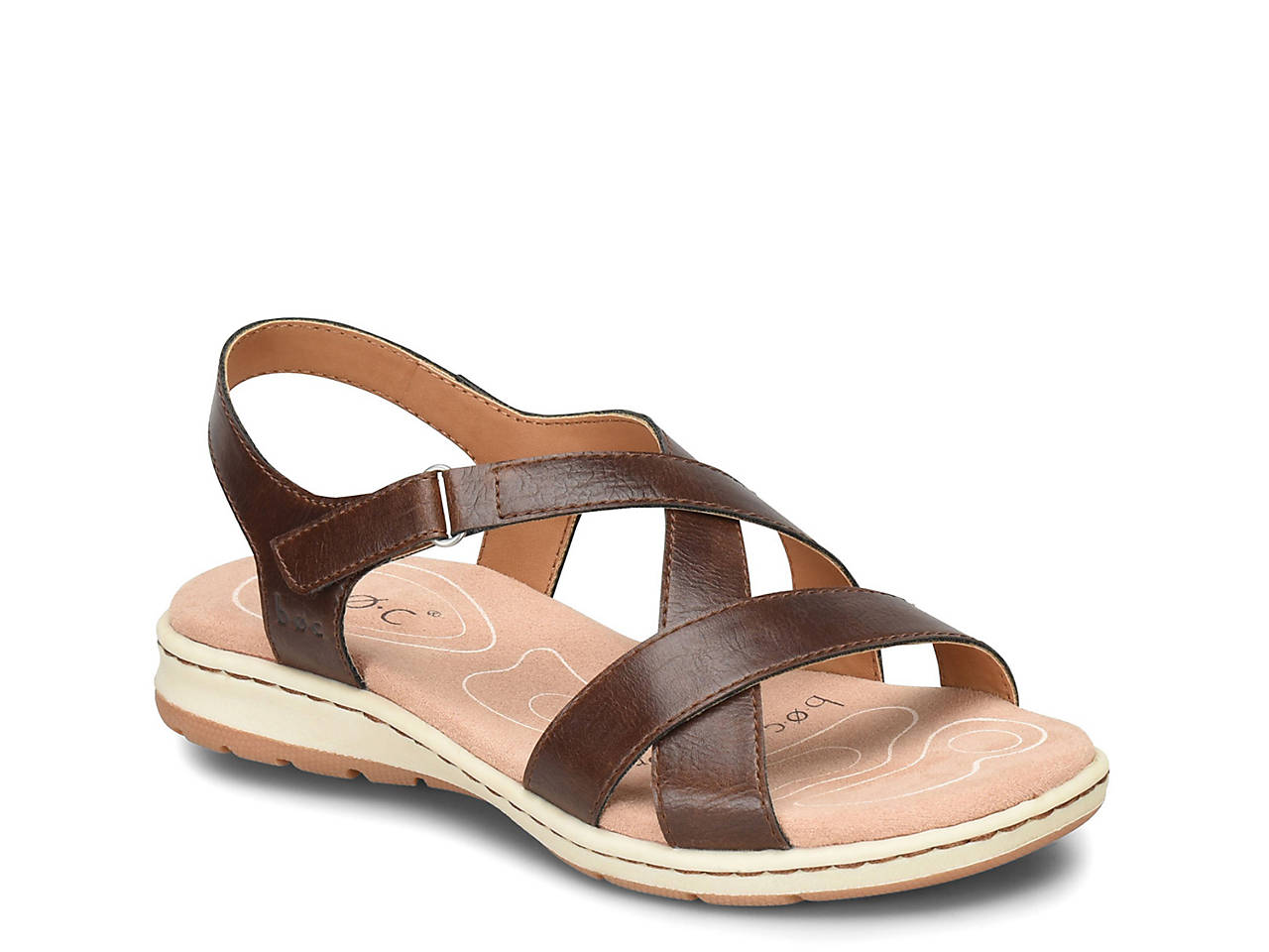 3dc8028bf52 b.o.c Camelia Wedge Sandal Men s Shoes