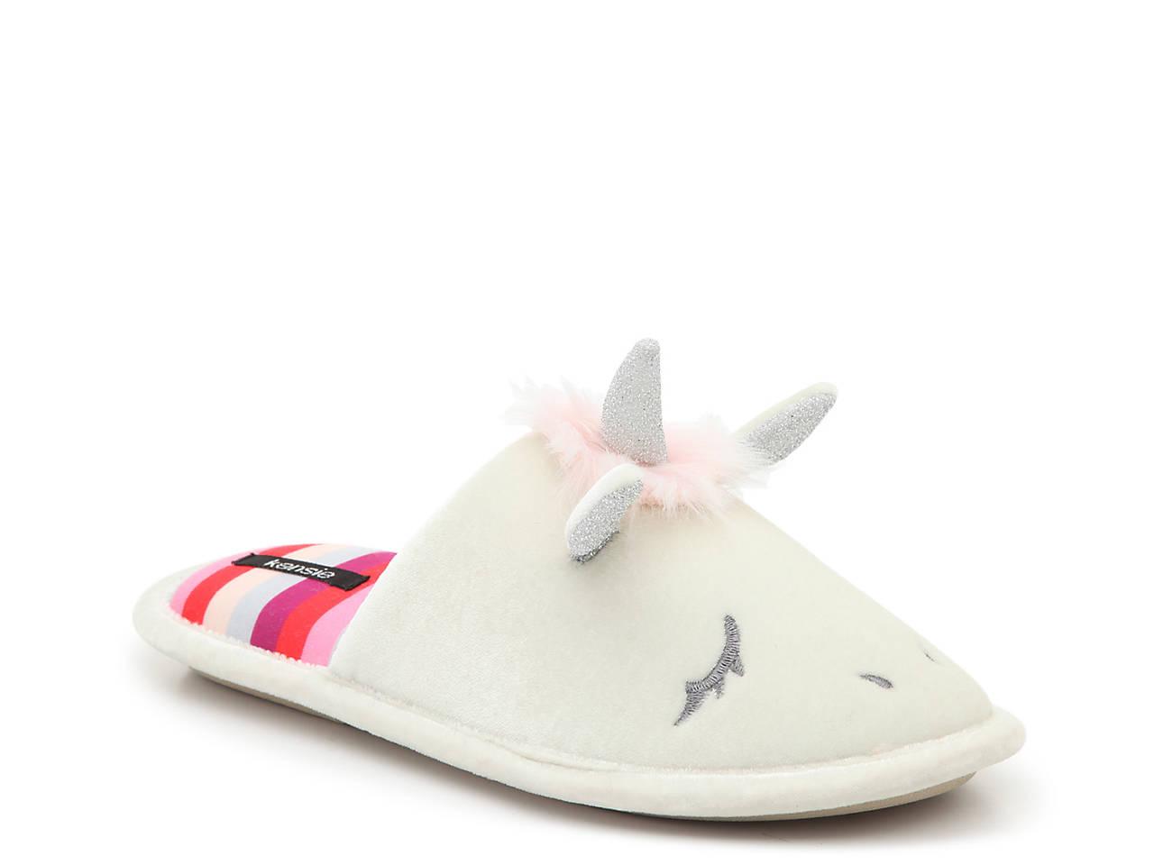 b1ce906165f Kensie Unicorn Scuff Slipper Women s Shoes