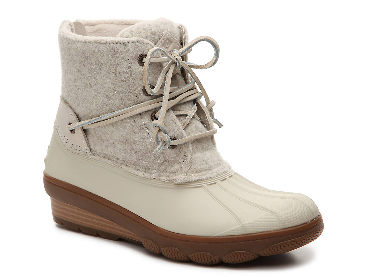 77d12dcf273d Sperry Top-Sider Saltwater Tide Wedge Duck Boot Women s Shoes