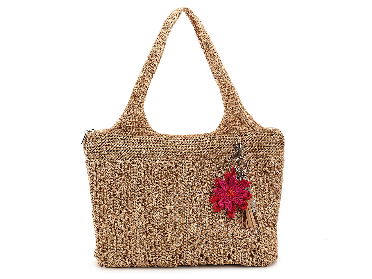 The Sak Crochet Shoulder Bag Womens Handbags Accessories Dsw
