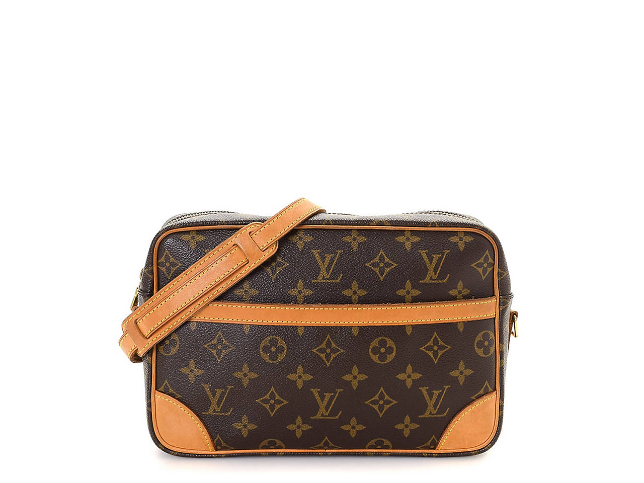 Louis Vuitton - Vintage Luxury Trocadero 27 Crossbody Bag Women s ... 605529635eb48