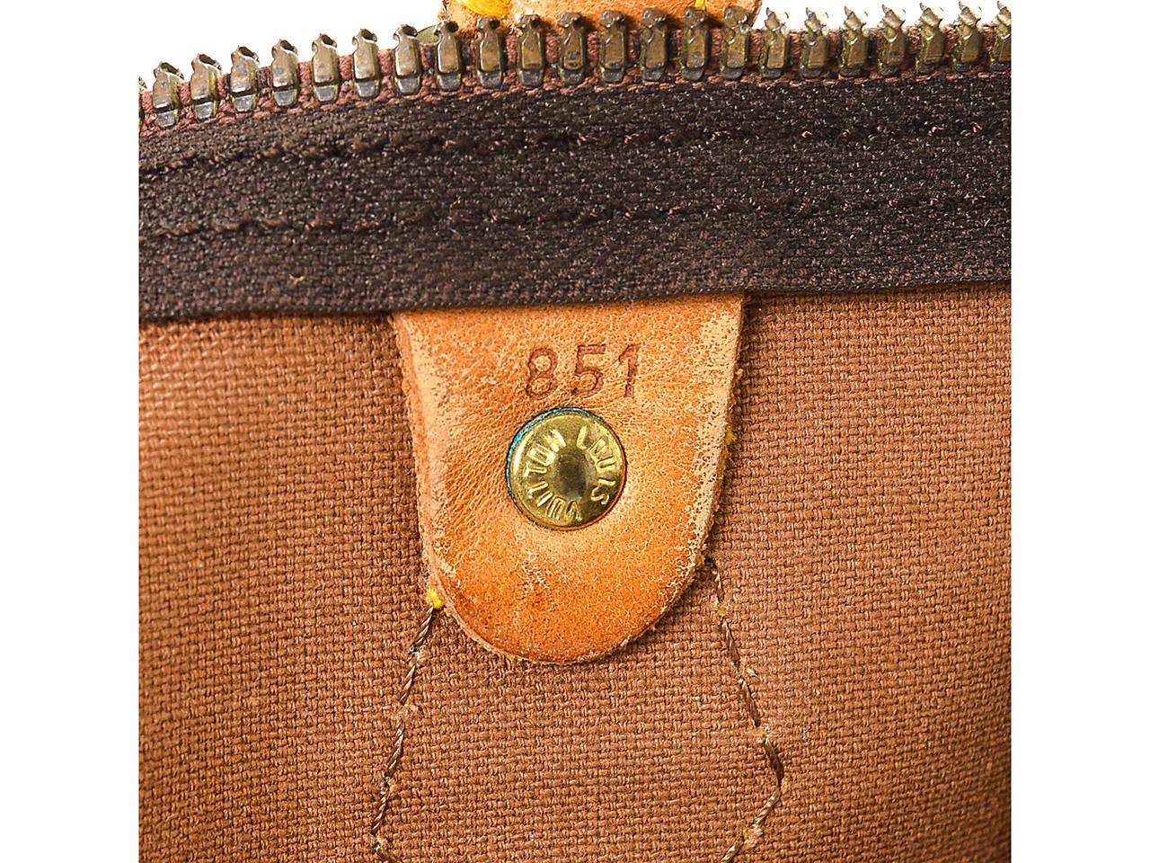 9dda94e7a689 Louis Vuitton - Vintage Luxury Speedy 35 Satchel Women s Handbags ...