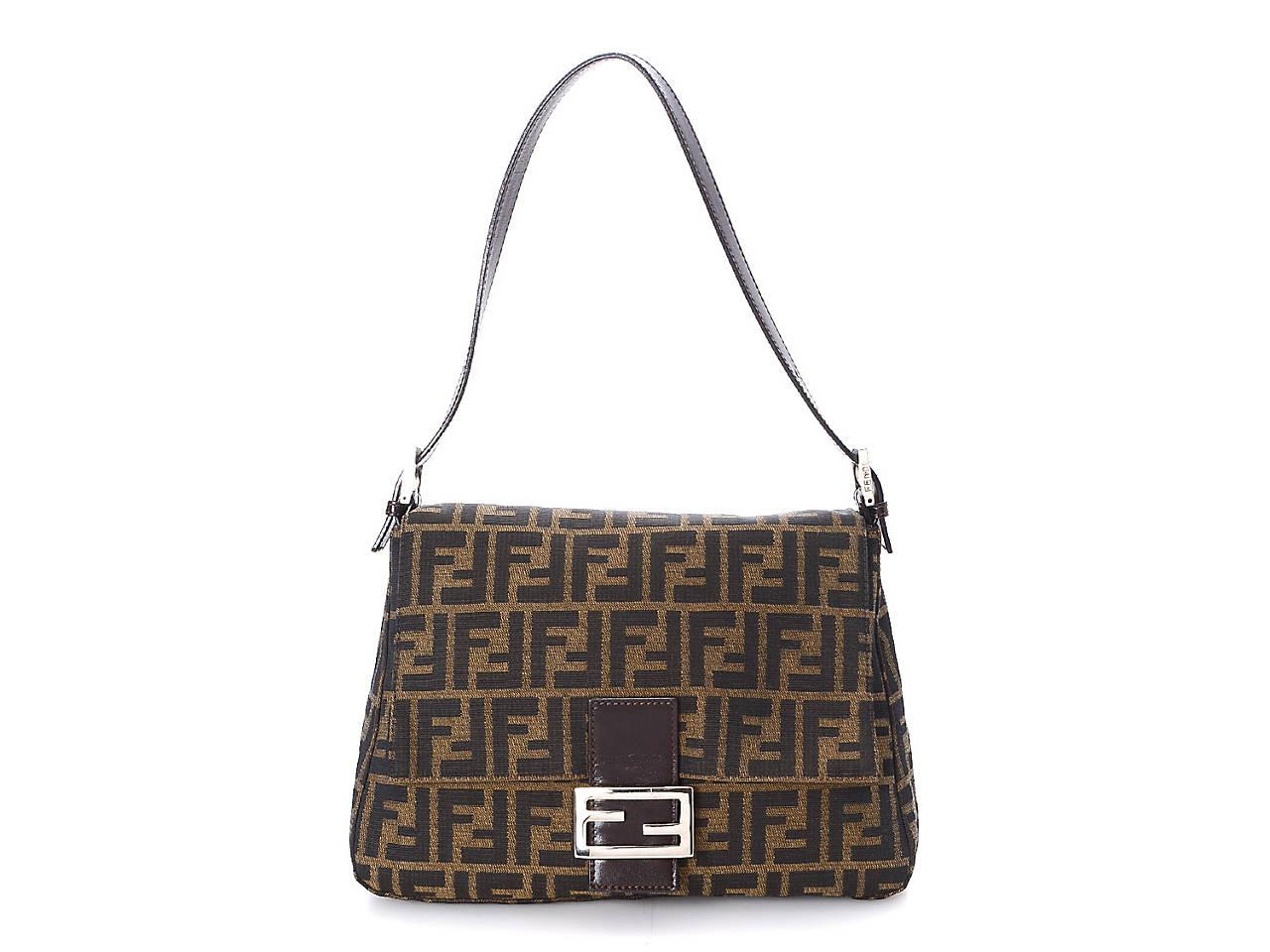 b1d5f32622 Fendi - Vintage Luxury Zucca Mamma Shoulder Bag Women s Handbags ...