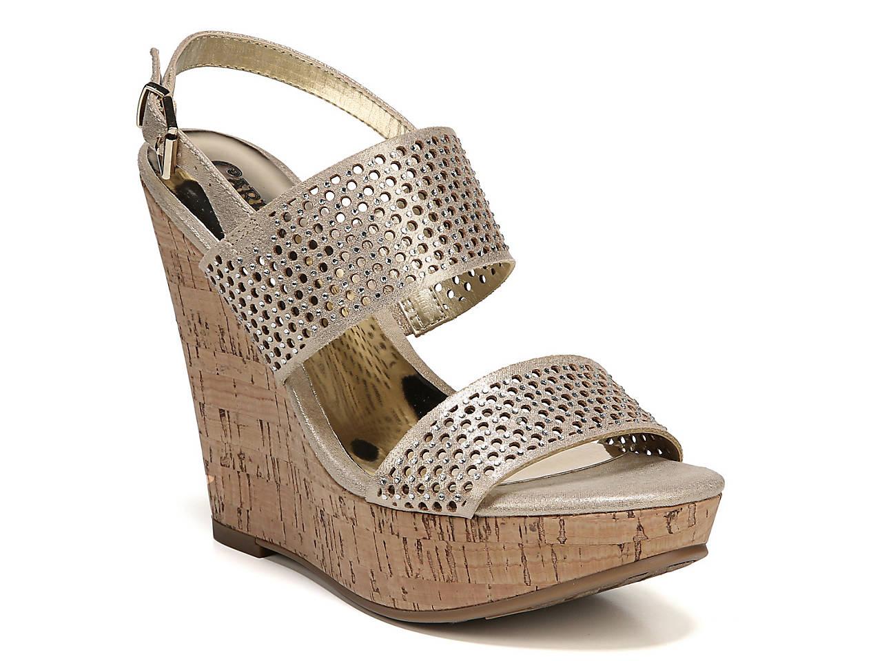 2f990eaa1d41 Carlos by Carlos Santana Beverlee Wedge Sandal Women s Shoes