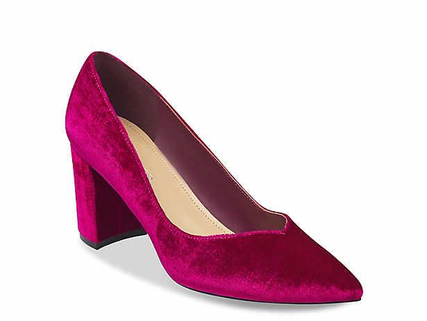fc4676e4e33 Block heel pump