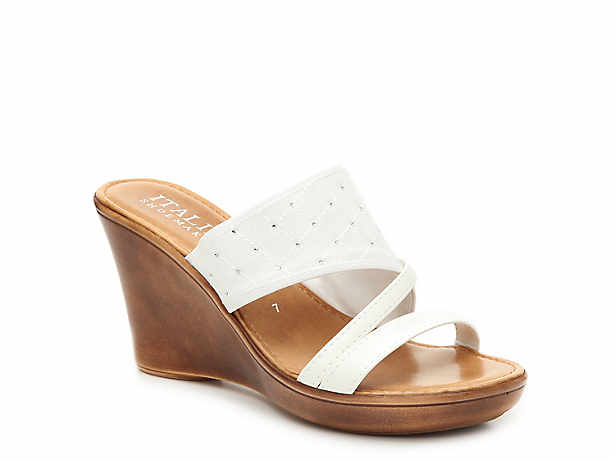 fc114f6fbab420 Italian Shoemakers. Tiia Wedge Sandal