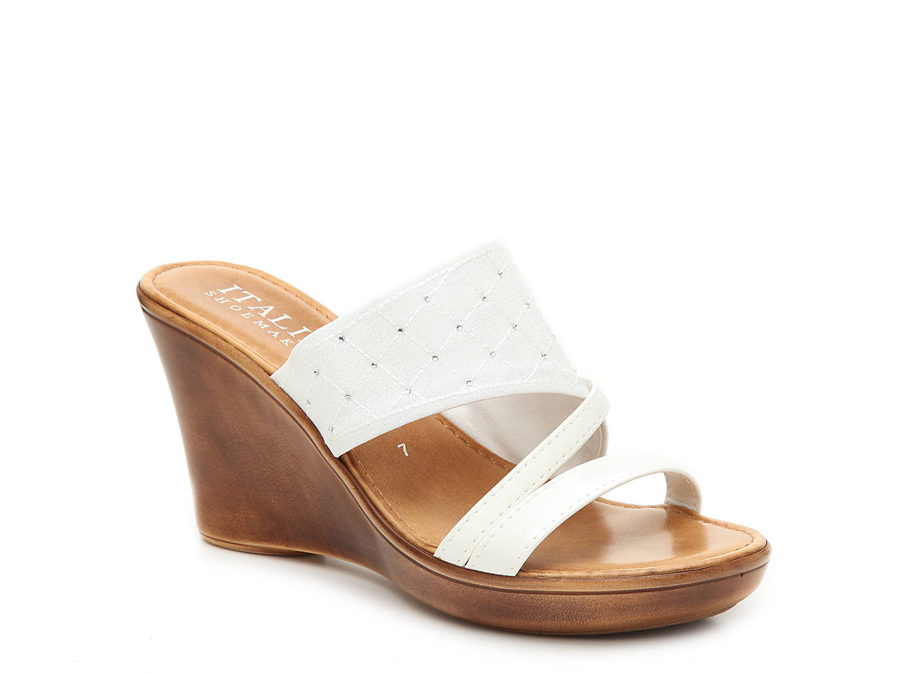9112cc2e72c54 Italian Shoemakers Tiia Wedge Sandal Women s Shoes