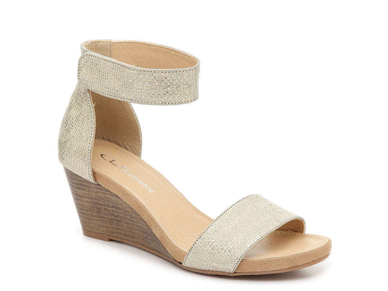 27f007d29 CL by Laundry Hot Zone Wedge Sandal Women s Shoes