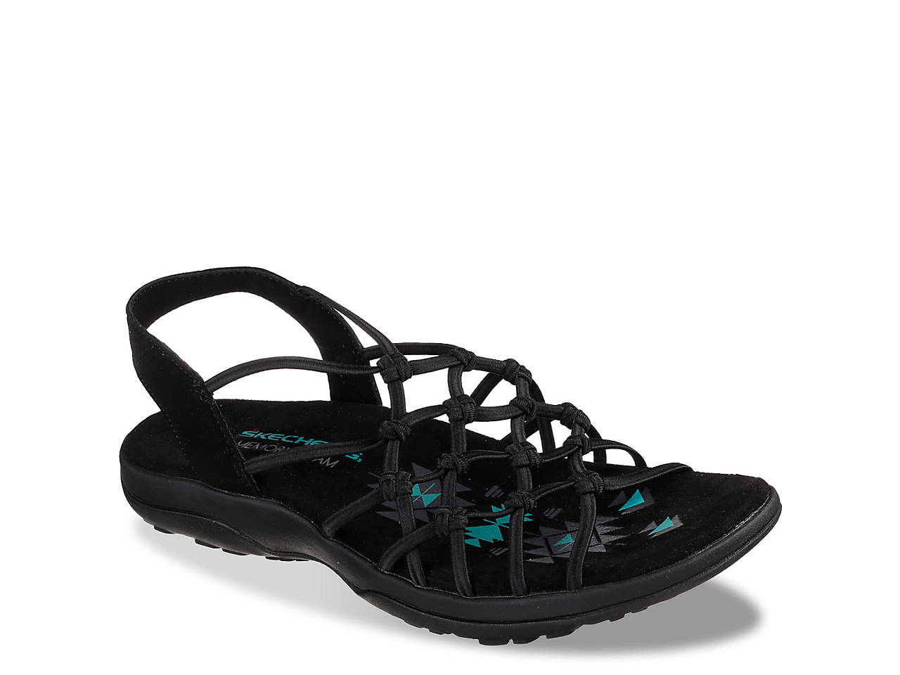 f75fbd98a33a Skechers Reggae Slim Forget Me Knot Sandal Women s Shoes