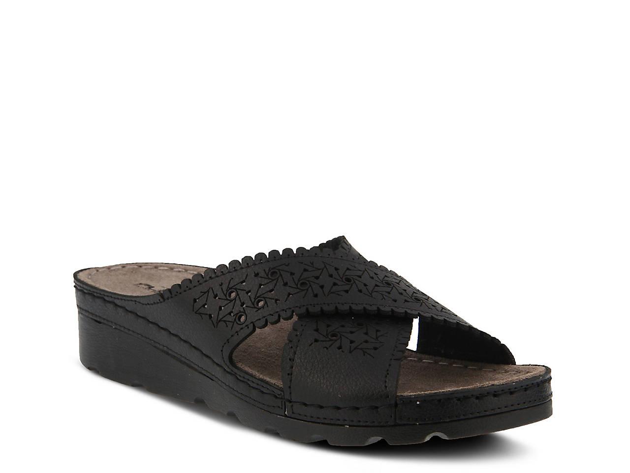 4ddba4cf0826 Flexus by Spring Step Passat Wedge Sandal Women s Shoes