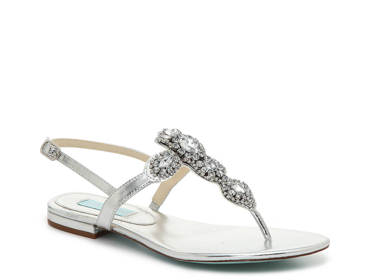 visit new Betsey Johnson Metallic Leather Sandals free shipping amazon clearance many kinds of sS1qCBi7