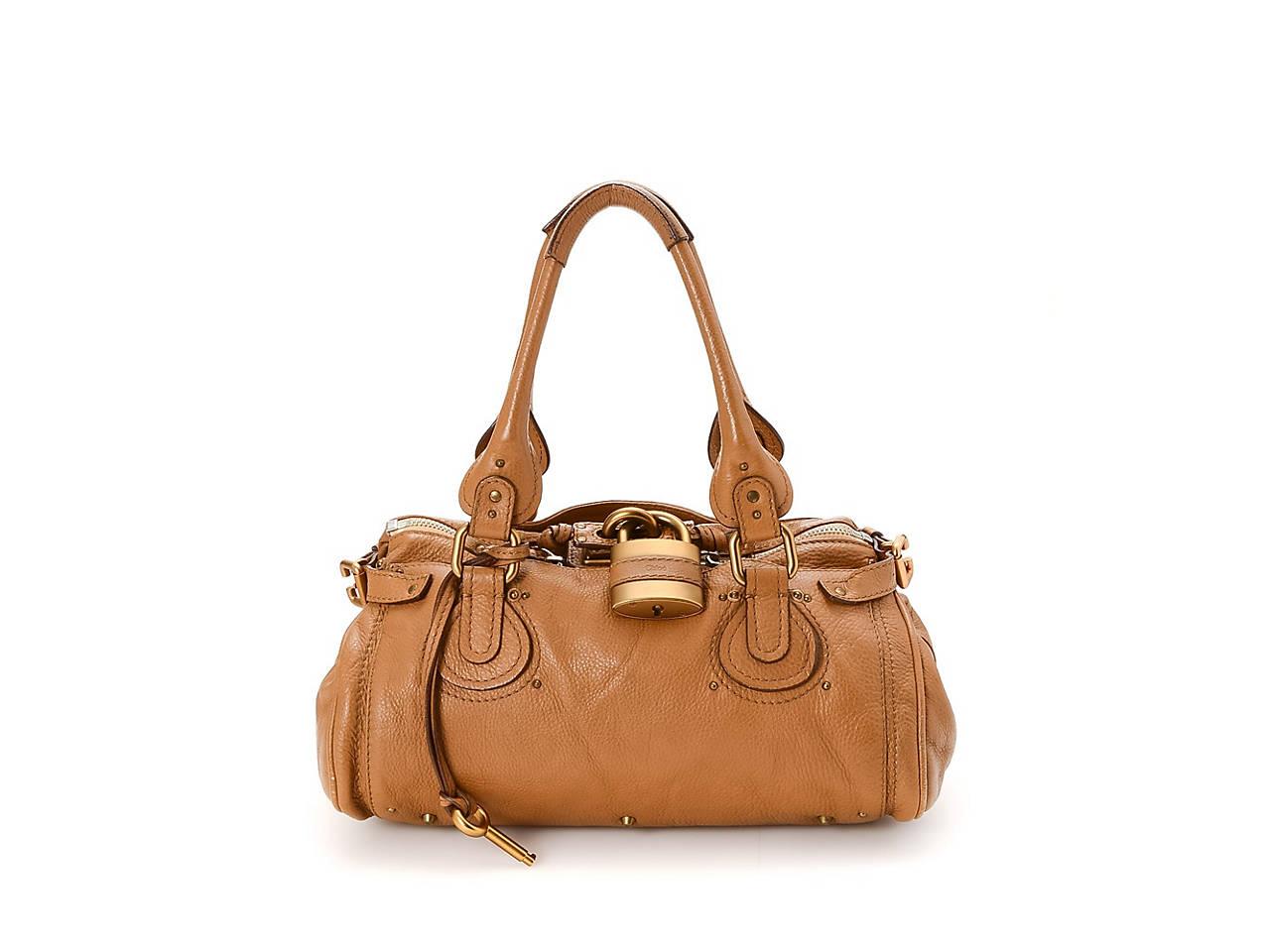 93361fe56752 Chloe - Vintage Luxury Paddington Leather Shoulder Bag Women s ...