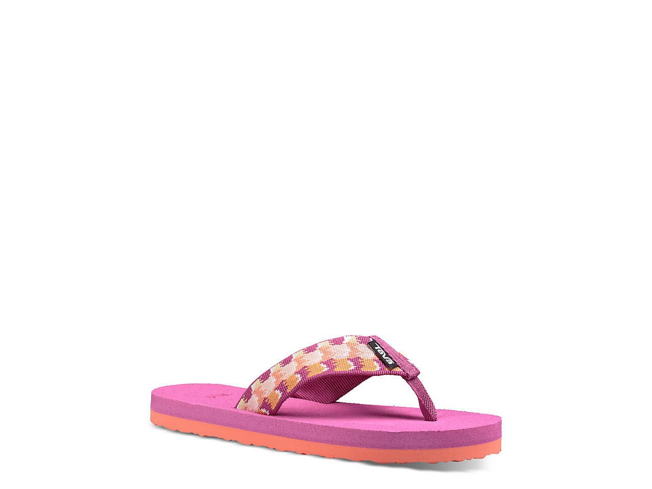 b6db1f422 Teva Mush II Toddler   Youth Flip Flop Kids Shoes