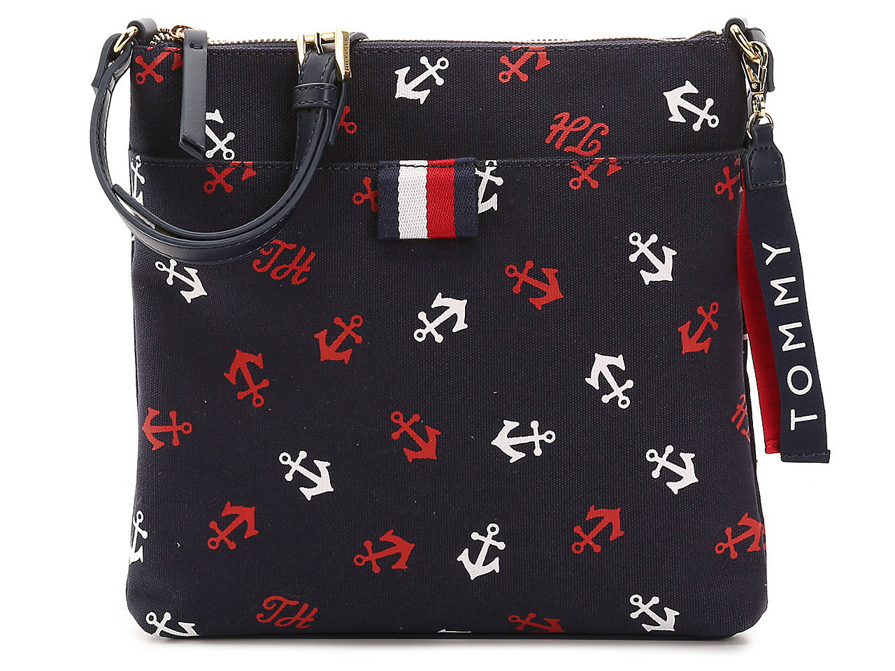 18793ecc3ba4 Tommy Hilfiger Anchor Crossbody Bag Women s Handbags   Accessories