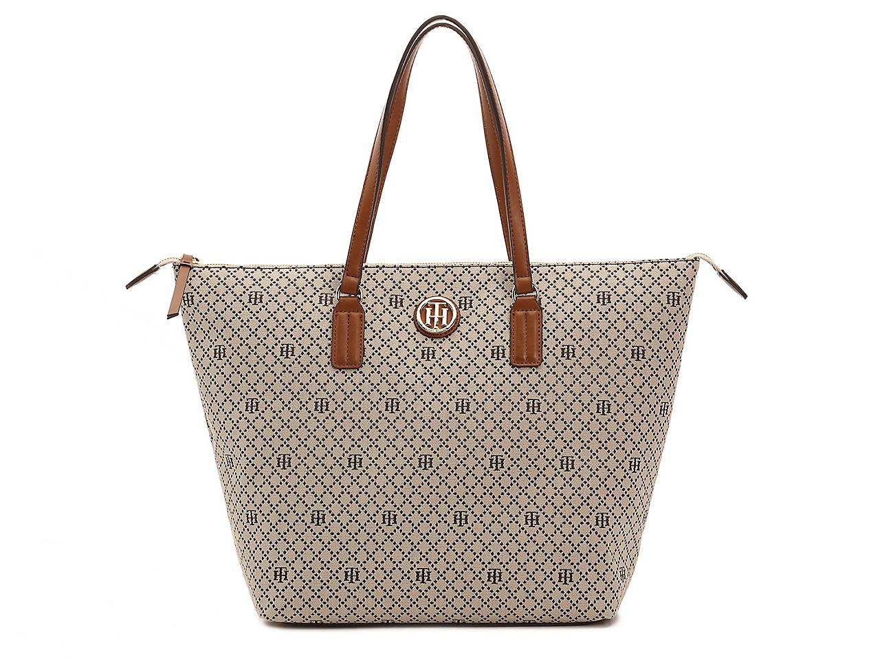 8c8d3b6b8e667 Tommy Hilfiger Jaq Tote Women s Handbags   Accessories
