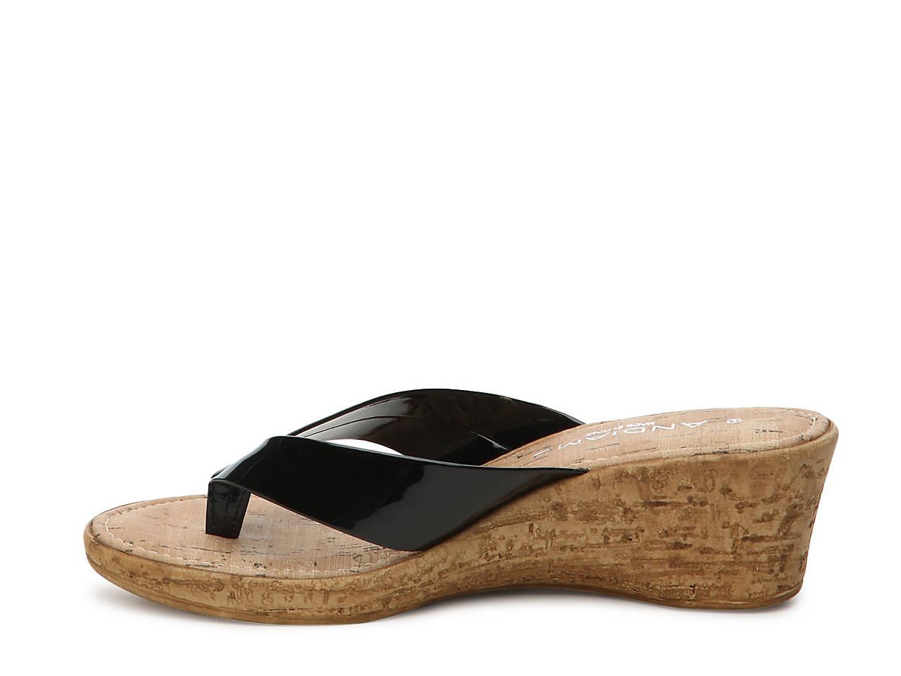 Andiamo Gerona Wedge Sandal Women S Shoes Dsw