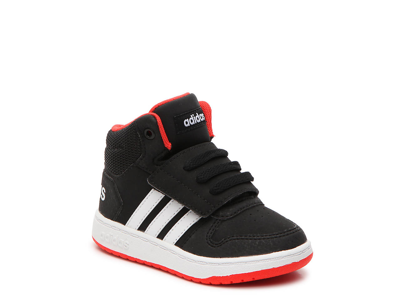 1b41a02e5e418 adidas Hoops Mid 2 Toddler High-Top Sneaker Kids Shoes