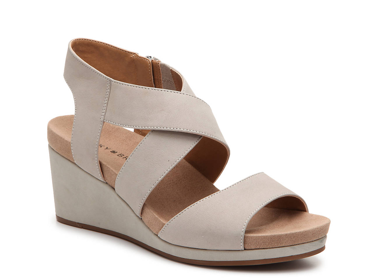 a959a4fb3a Lucky Brand Kakina Wedge Sandal Women's Shoes | DSW