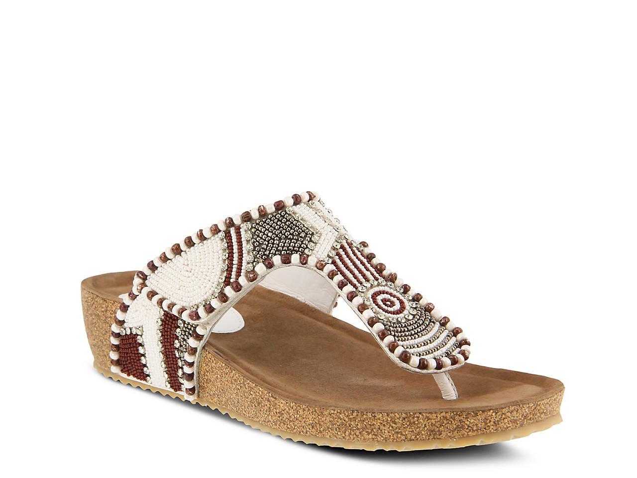 Lachlana Wedge Sandal by Azura