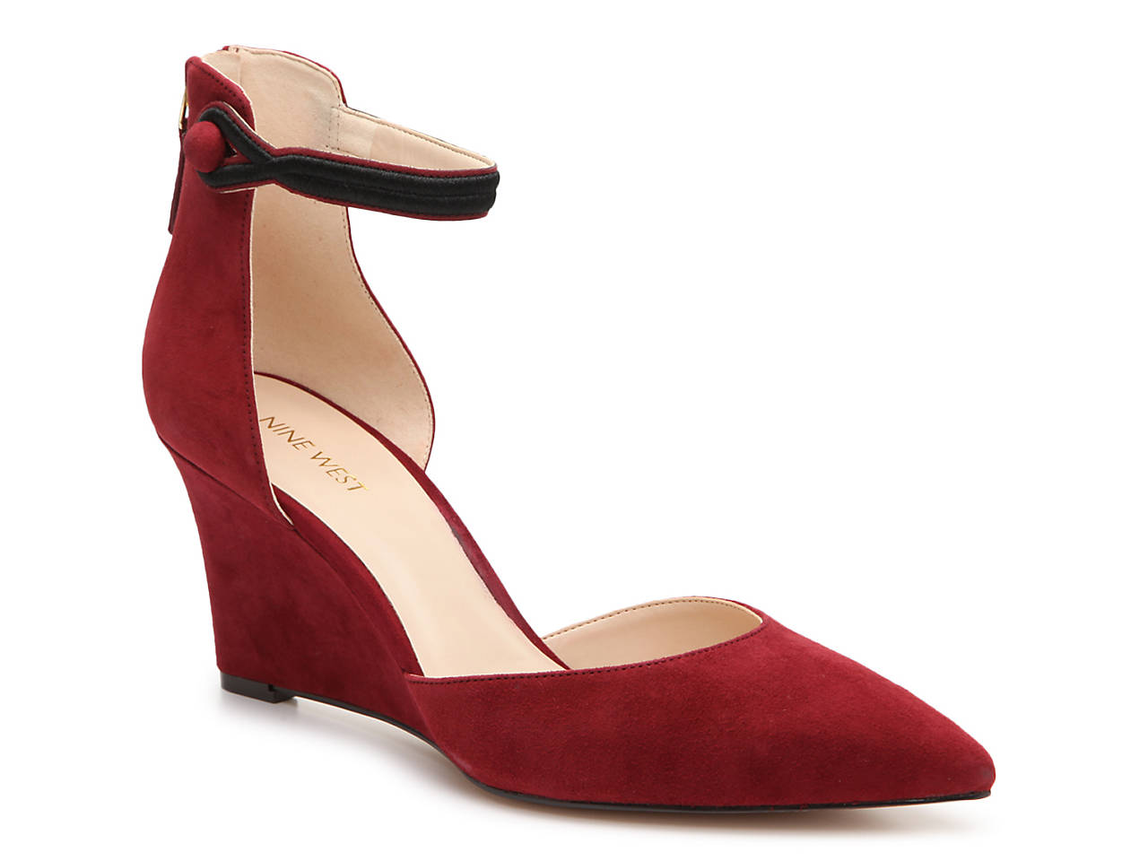 d7da8473be Nine West Kierstin Wedge Pump Women's Shoes | DSW