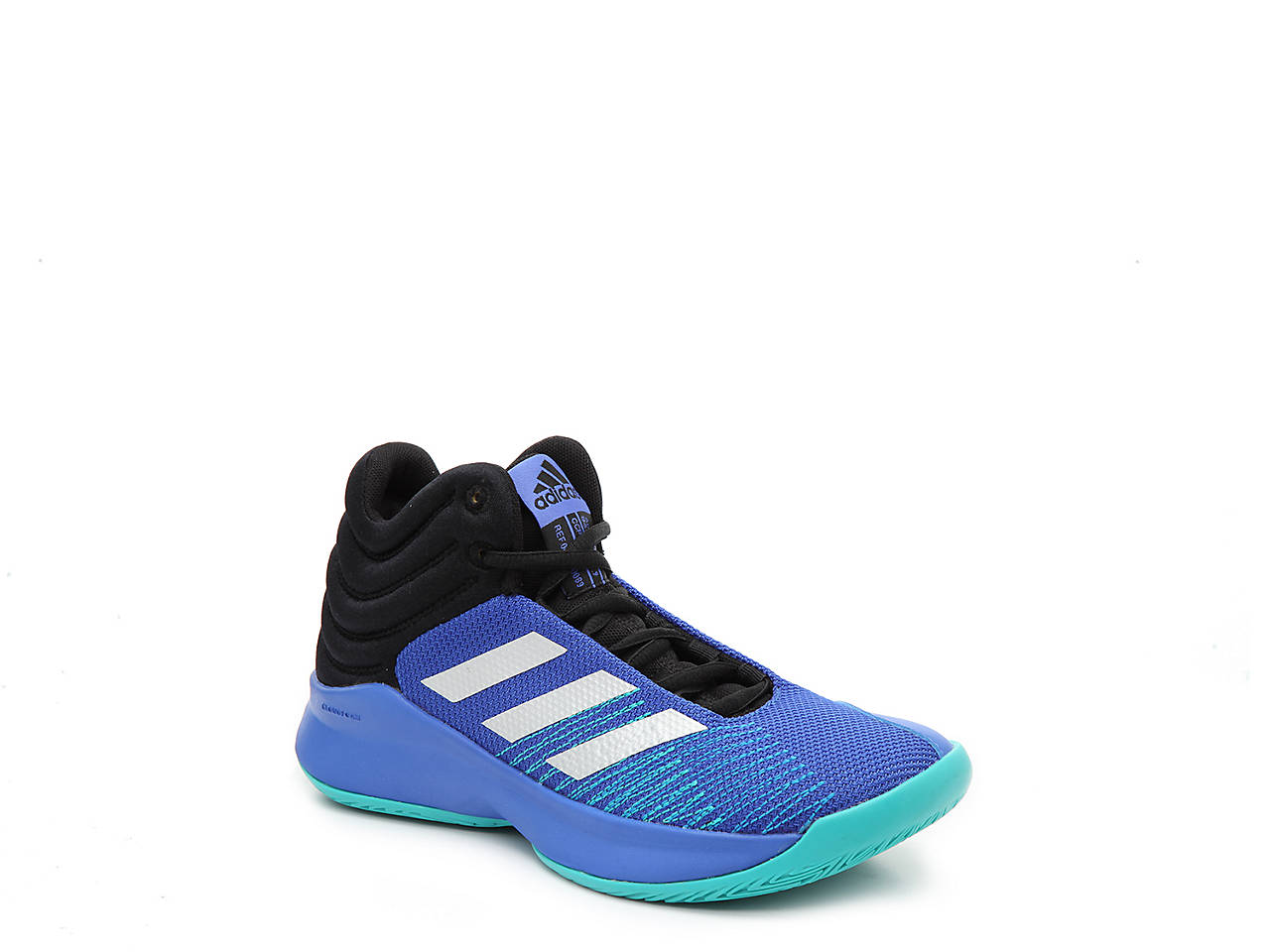 0c09483070757 adidas Pro Spark Toddler   Youth High-Top Basketball Shoe Kids Shoes ...