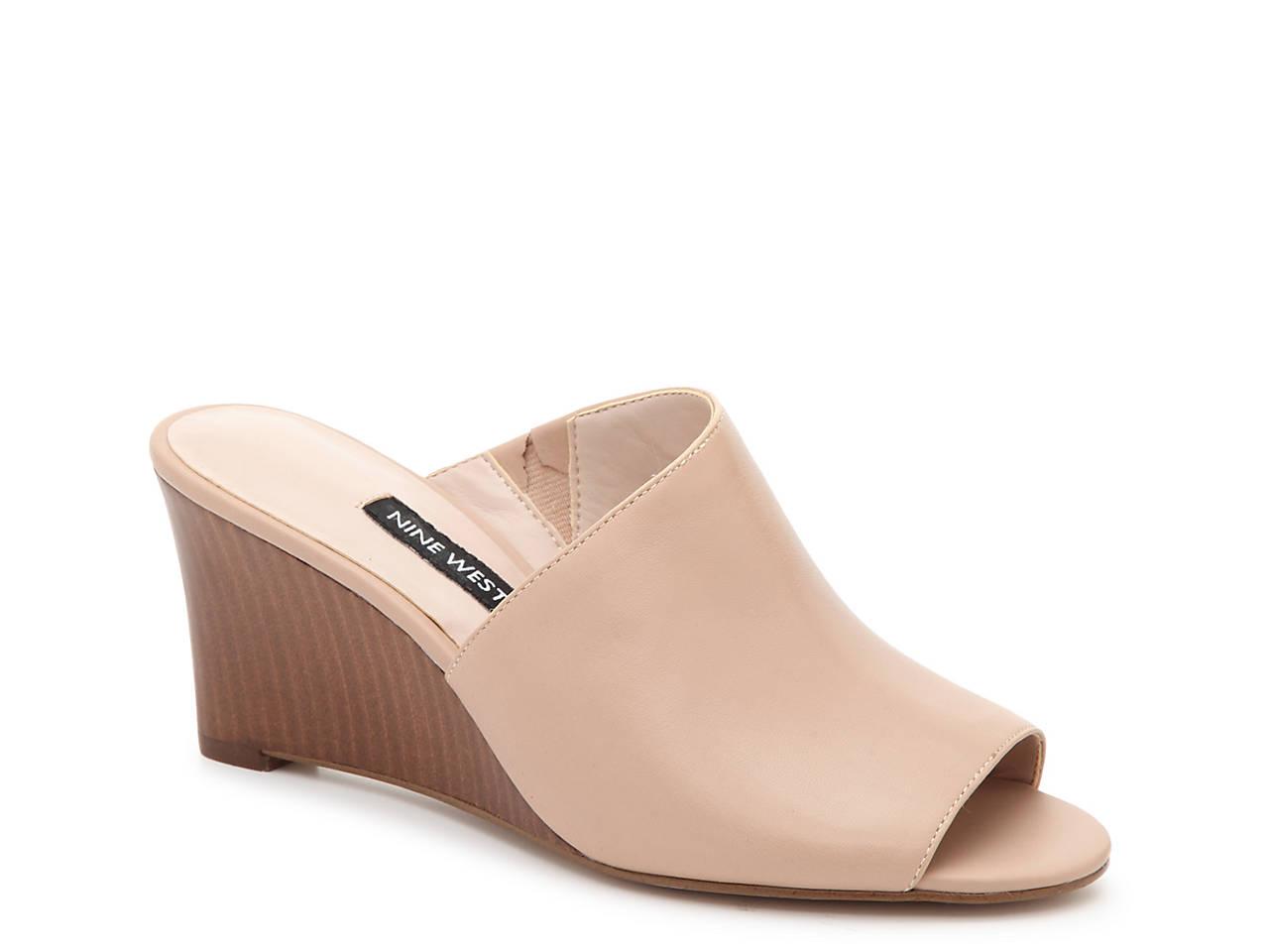 777c87665e Nine West Voce Wedge Sandal Women's Shoes | DSW