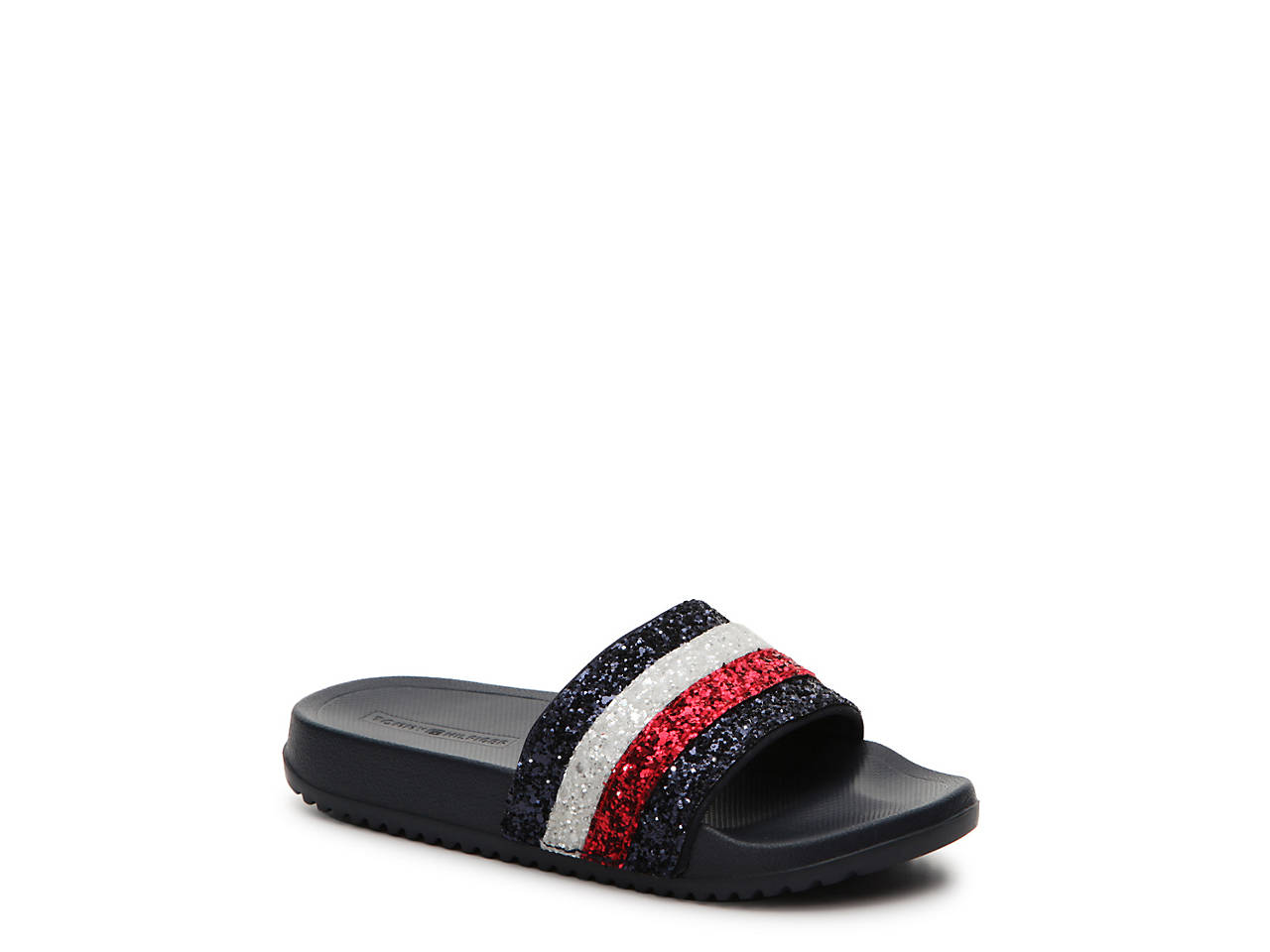 afacd7ac30ba Tommy Hilfiger Remy Toddler   Youth Slide Sandal Kids Shoes