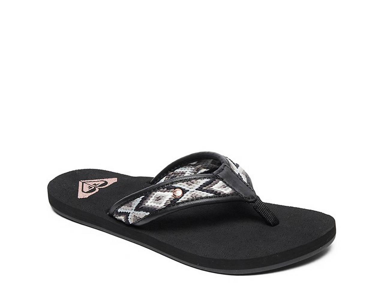 85644387f02 Roxy Saylor Flip Flop Women s Shoes
