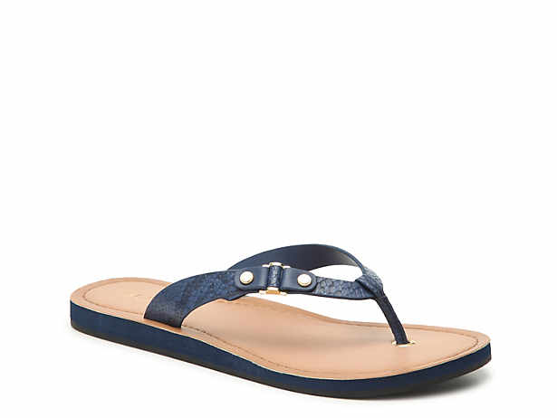 Pieces Pearl Leather Sandals Women Blue Footlocker Finishline Barato en línea GxtHWDcS