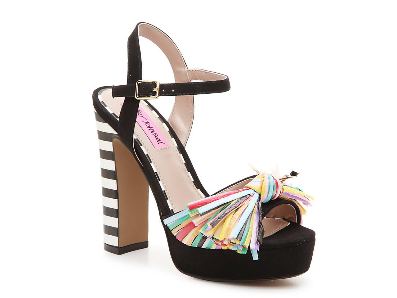 bef39b9a8cc Betsey Johnson Mandy Platform Sandal Women s Shoes