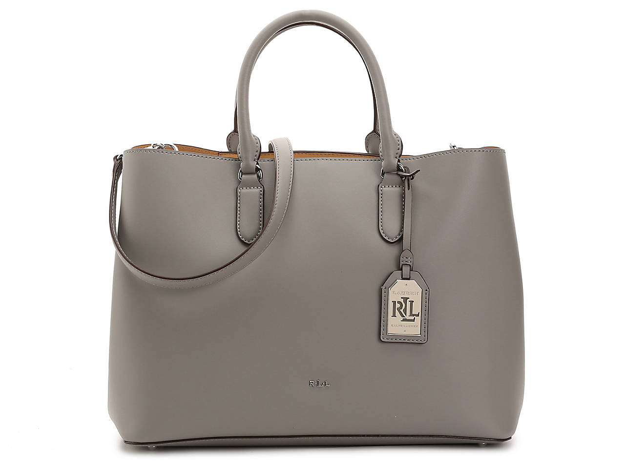 cef9151d8a Lauren Ralph Lauren Dryden Marcy Leather Satchel Women s Handbags ...