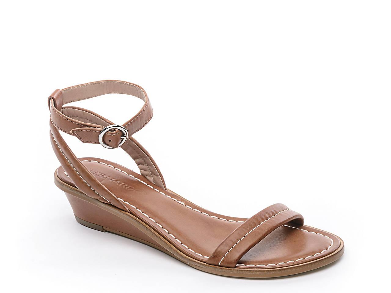 f40f6c48ea9 Bernardo Catherine Wedge Sandal Women s Shoes