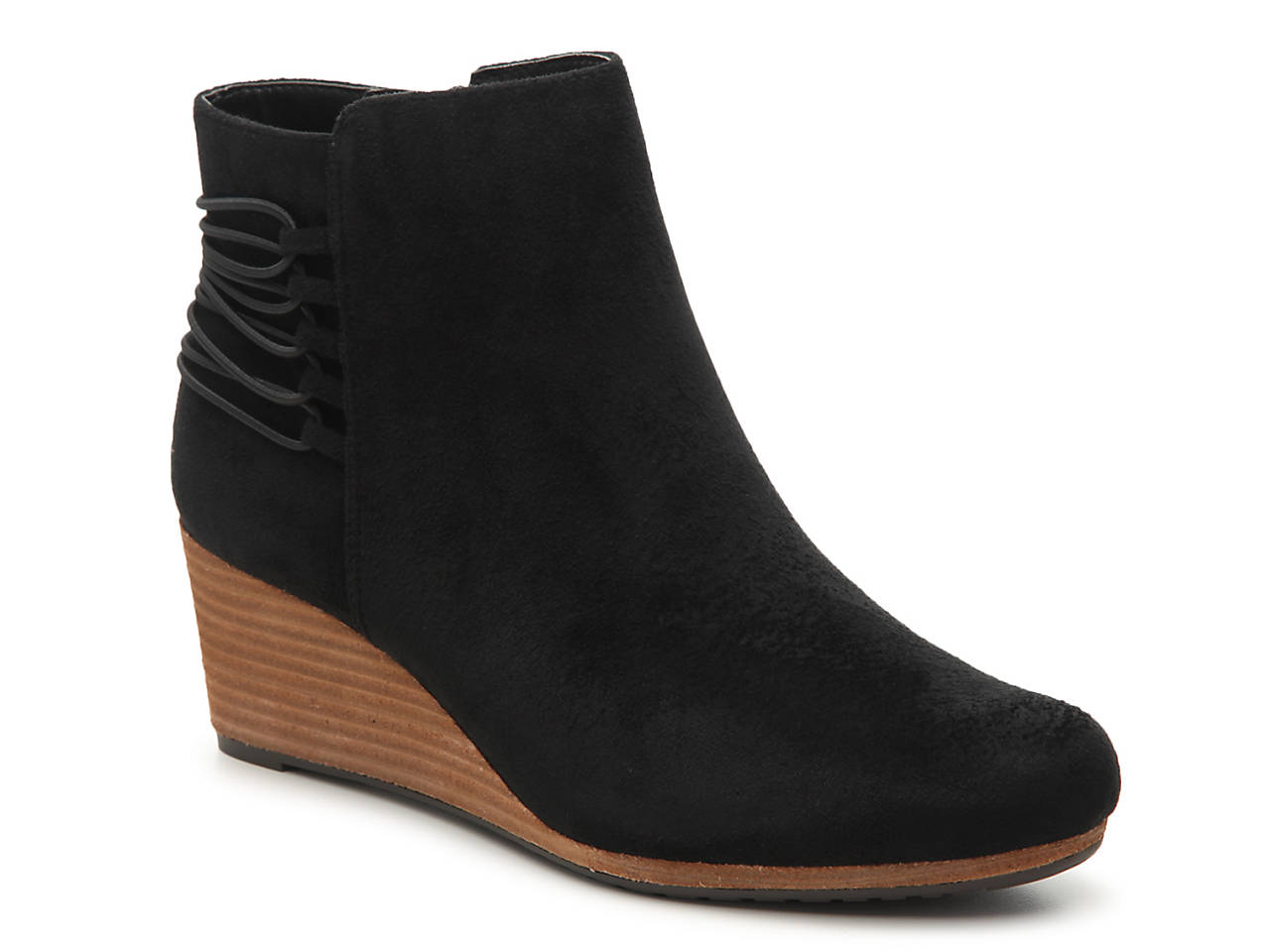 fd9e72bf0fd9 Dr. Scholl s Knoll Wedge Bootie Women s Shoes